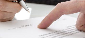 umowy zabezpieczenia
